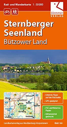 9783940175137: Sternberger Seenland 1 : 50 000 Rad- und Wanderkarte: GPS geeignet, Erlebnis-Tipps auf der R�ckseite
