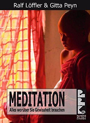 9783940185129: Meditation: Alles worüber Sie Gewissheit brauchen