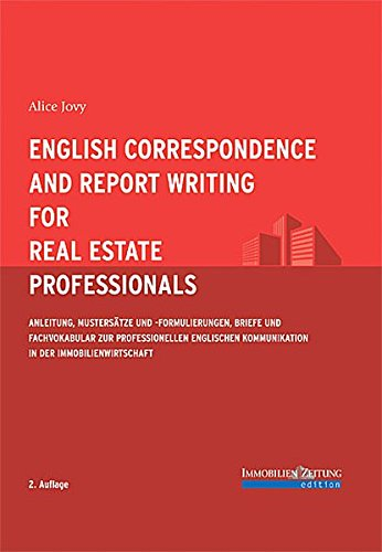 9783940219169 English Correspondence And Report Writing For Real
