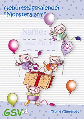 9783940253514: Geburtstagskalender 34;Monsteralarm34;