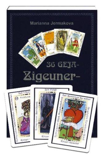9783940365170: 36 Geja-Zigeunerkarten mit Buch