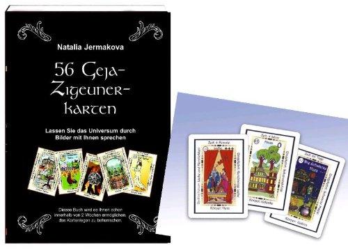 9783940365187: 56 Geja-Zigeuner Karten mit Buch