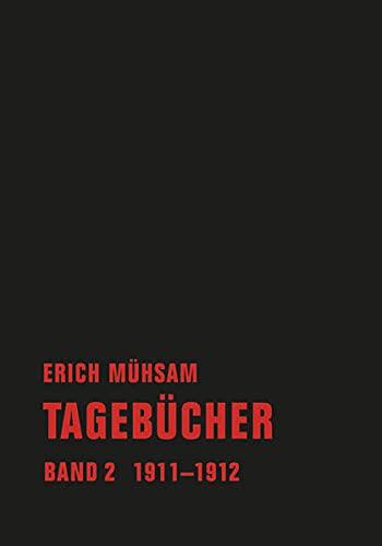 9783940426789: Tagebücher. Band 02: 1911-1912
