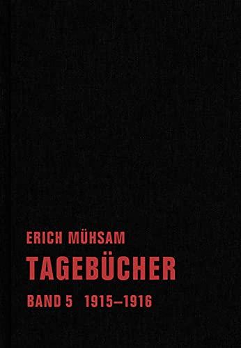 9783940426819: Tagebücher. Band 05: 1915-1916