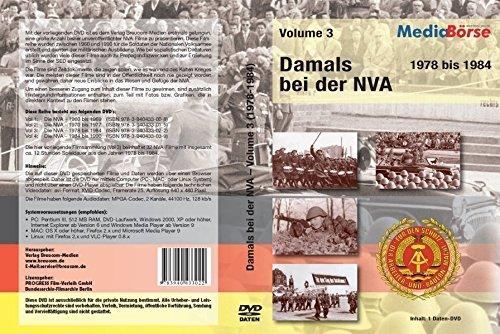 Damals bei der NVA - 1978 bis 1984. Volume 3 [import allemand]