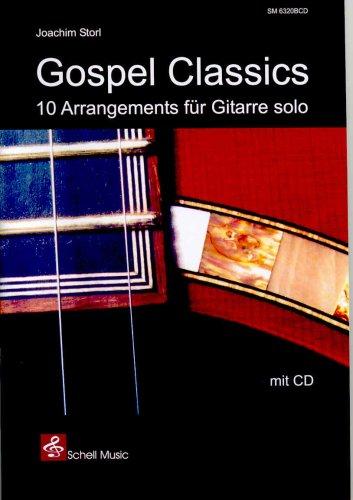 9783940474254: Gospel Classics (mit CD) - 10 Arrangements f�r Gitarre solo