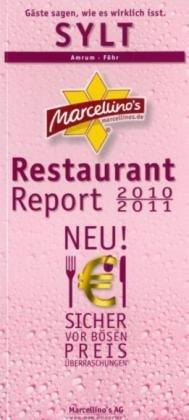 9783940522030: Marcellino's Restaurant Report Sylt 2010/2011: Amrum - Föhr
