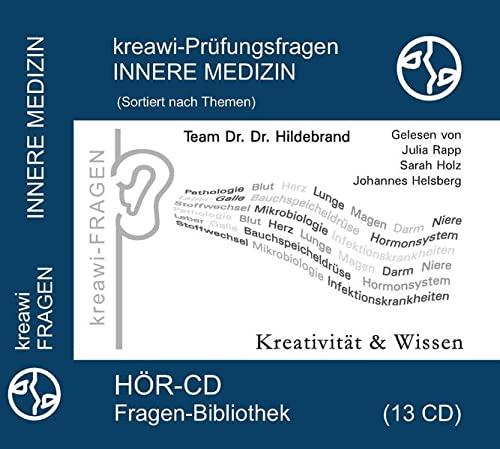 9783940535931: kreawi-Prüfungsfragen Innere Medizin: Sortiert nach Themen 13 CD