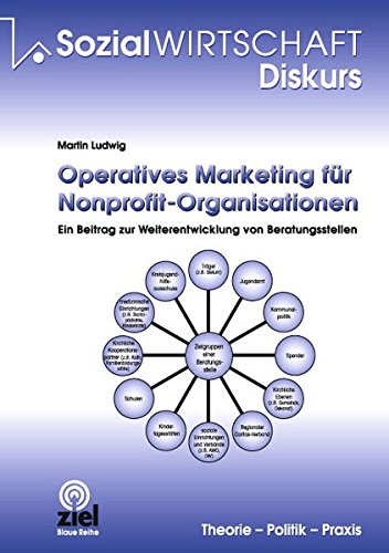 9783940562159: Operatives Marketing f�r Nonprofit-Organisationen: ein Beitrag zur Weiterentwicklung von Beratungsstellen