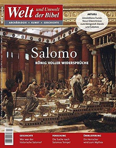 9783940743596: Welt und Umwelt der Bibel / Salomo: König voller Widersprüche