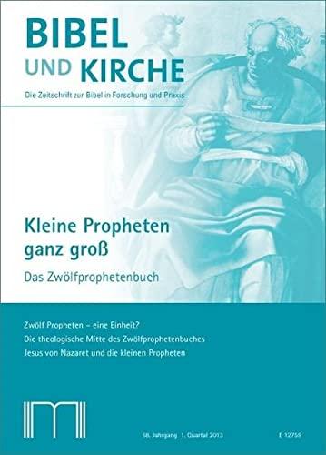 Bibel und Kirche / Kleine Propheten ganz groß: Das Zwölfprophetenbuch