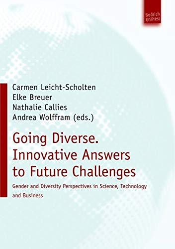 9783940755629: Going Diverse: Innovative Answers to Future Challenges: Gender and Diversity Perspectives in Science, Technology and Business