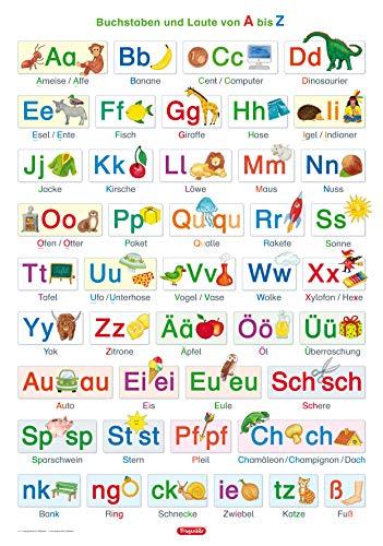 9783940811165: Lernposter. Buchstaben und Laute von A bis Z