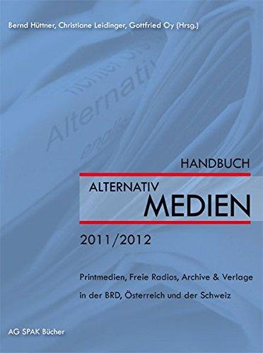9783940865229: Handbuch der Alternativmedien 2011/2012