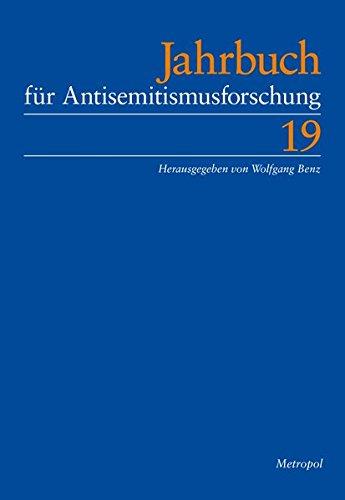 Jahrbuch für Antisemitismusforschung 19, - Benz, Wolfgang (Hg.)