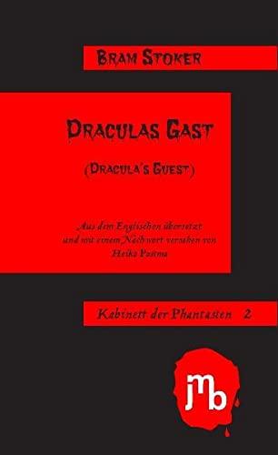 9783940970862: Draculas Gast