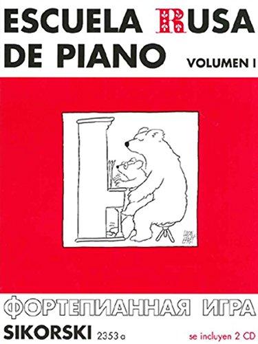 9783940982186: Escuela Rusa de Piano Vol.1 + 2 CD