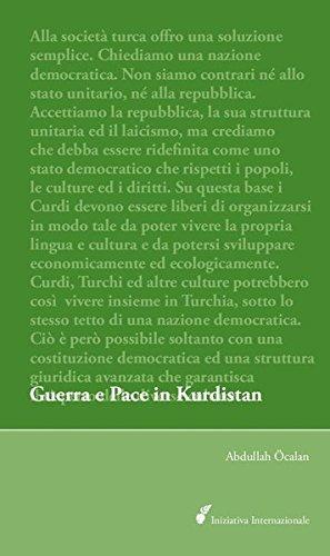 9783941012707: Guerra e Pace in Kurdistan: Prospettive per una soluzione politica della questione curda