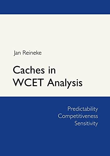 9783941071698: Caches in WCET Analysis
