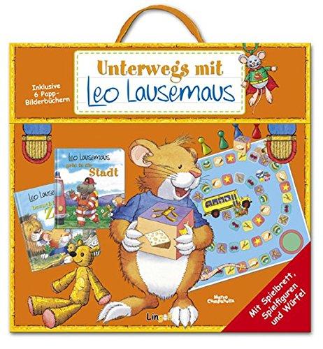 9783941118522: Unterwegs mit Leo Lausemaus