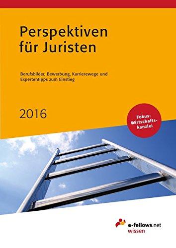 9783941144651: Perspektiven für Juristen 2016