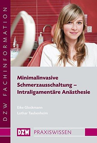 9783941169197: Minimalinvasive Schmerzausschaltung - Intraligament�re An�sthesie