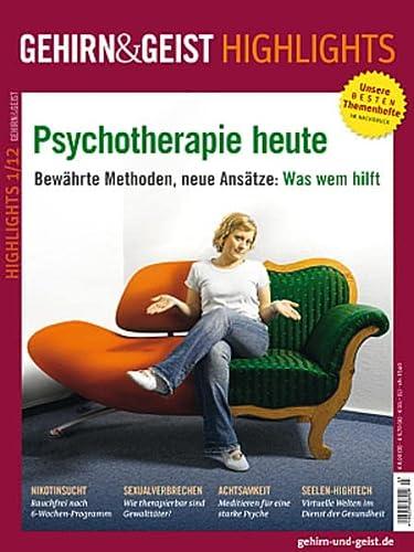9783941205932: Psychotherapie heute
