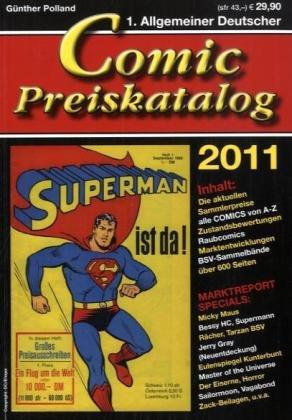 9783941239524: Comicpreiskatalog 2011