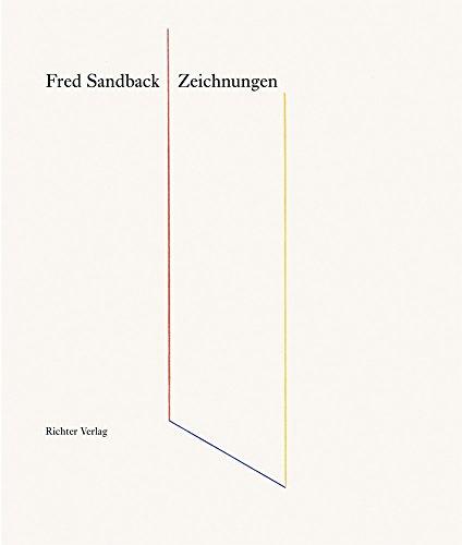 Fred Sandback Zeichnungen