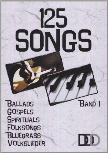 9783941312005: 125 Songs Bd 1