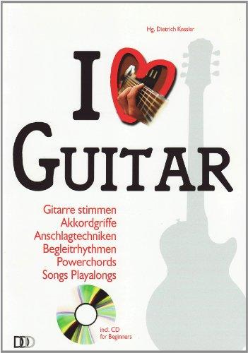 9783941312296: I Love Guitar