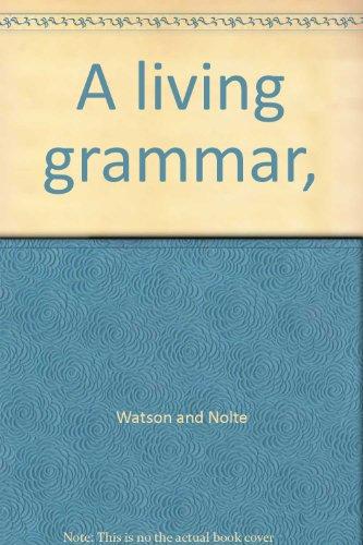 9783941355033: A living grammar,