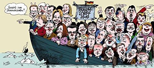 Land Unter - Politische Karikaturen 2010 - Klaus, Stuttmann, Staeck Klaus und Fekl Walther