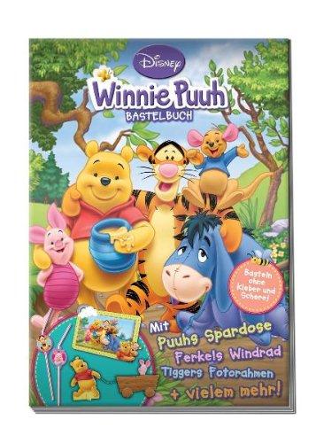 9783941410411: Winnie Puuh Bastelbuch: Basteln ohne Kleber und Schere!