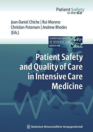 9783941468115: Patient Safety and Quality of Care in Intensive Care Medicine