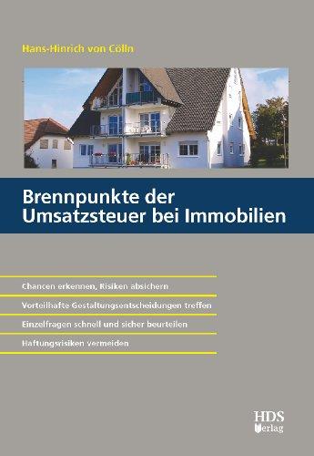 9783941480223: Brennpunkte der Umsatzsteuer bei Immobilien
