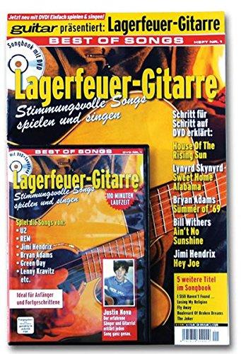 9783941531161: guitar: Lagerfeuer-Gitarre. Best of Songs. Mit DVD: Stimmungsvolle Songs spielen und singen. Spiel die Songs von U2, REM, Jimi Hendrix, Bryan Adams, Green Day, Lenny Kravitz etc