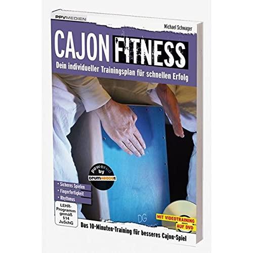 9783941531857: Cajon Fitness: Dein individueller Trainingsplan für schnellen Erfolg