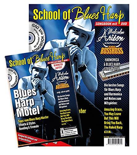 9783941531970: School of Blues: Blues Harp Motel