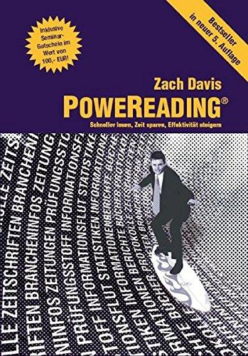 9783941546004: PoweReading: Schneller lesen Zeit sparen, Effektivität steigern