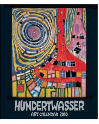 9783941548015: Kleiner Hundertwasser Art Calendar 2010