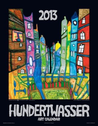 9783941548442: Hundertwasser Art Calendar 2013