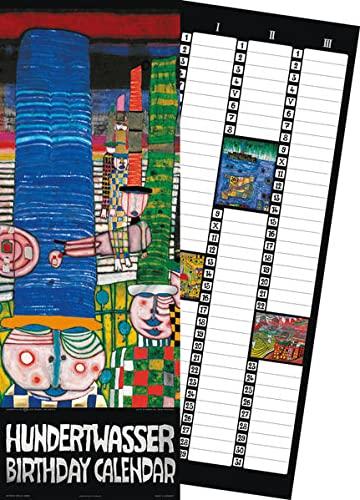 9783941548756: Hundertwasser Birthday Calendar