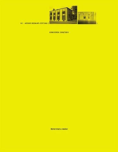 Never Trust a Curator: Kuratieren 2008/1009