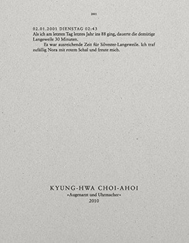 Augenarzt und Uhrmacher - Kyung-Hwa Choi-Ahoi