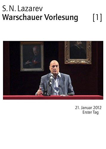 9783941622890: S.N.Lazarev-Warschauer Vorlesung: 21.Januar 2012, Erster Tag [Alemania] [DVD]