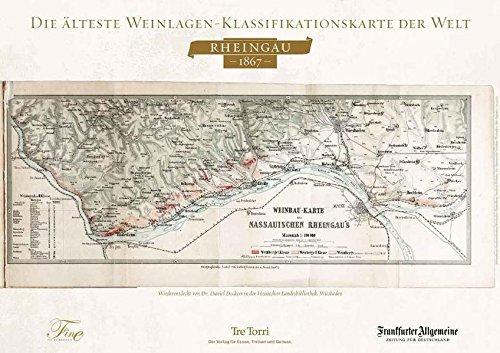 9783941641617: FINE Poster Weinlagenkarte