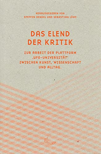 9783941644557: Das Eland Der Kritik (German Edition)
