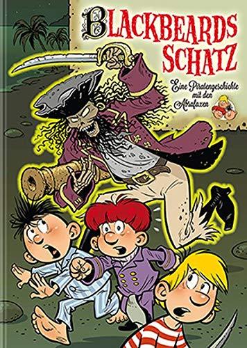 9783941815261: Blackbeards Schatz: Eine Piratengeschichte mit den Abrafaxen: Eine lange Geschichte aus vielen kurzen