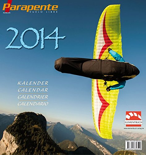 9783941856509: Gleitschirm Kalender Parapente 2014